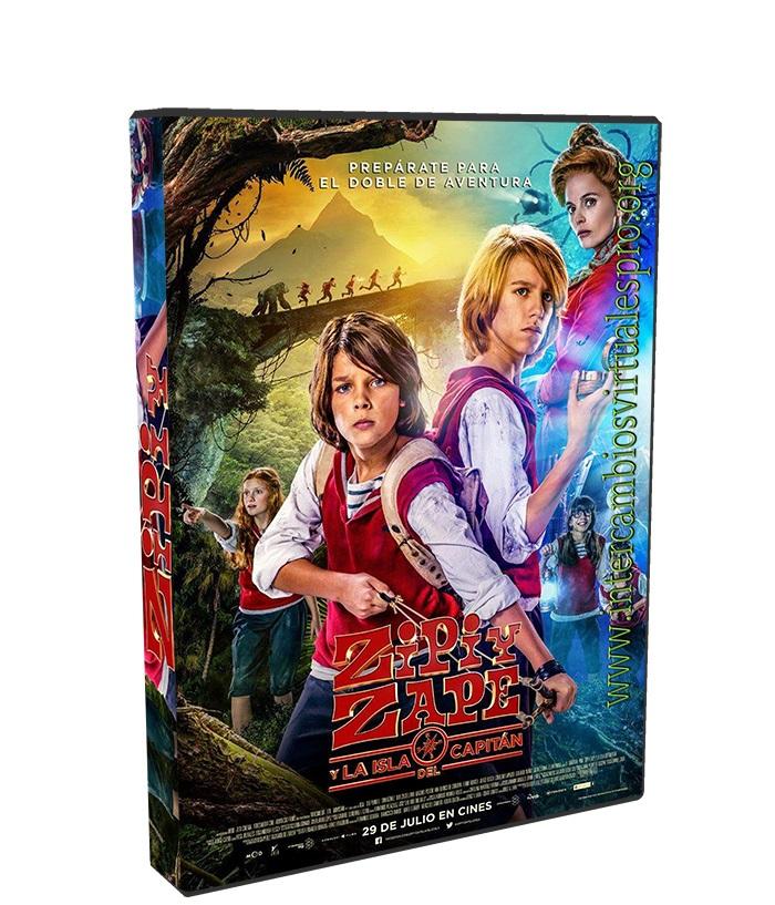 Zipi Y Zape 2 Y La Isla Del Capitan poster box cover