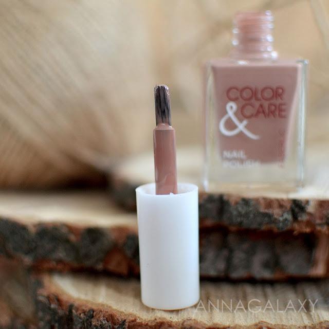 Кисточка лака Лак для ногтей Faberlic Color and Care 7793 кофе и шоколад