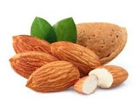 manfaat madu dan kacang almon mengobati batuk kering  secara alami