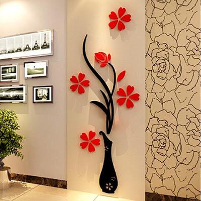 Dekorasi Dinding Unik Untuk Rumah Minimalis