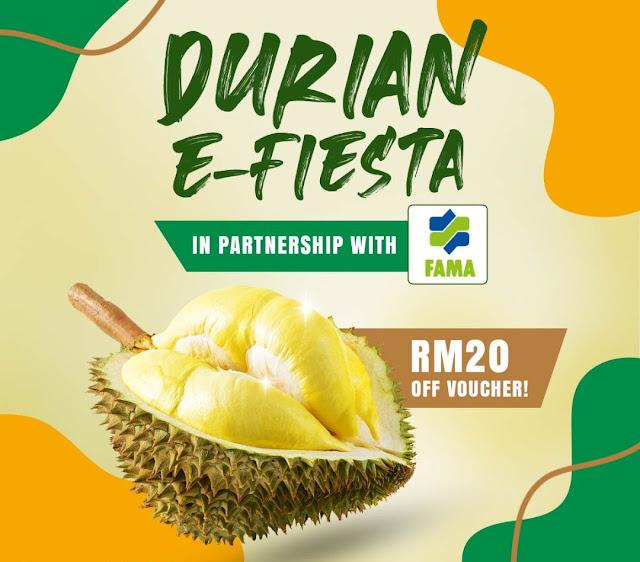 FAMA, Shopee Lancarkan Pameran Durian Maya Pertama