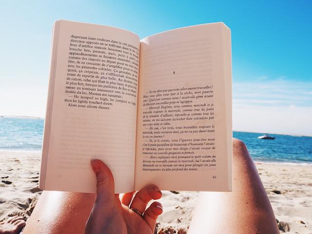 lire a la plage