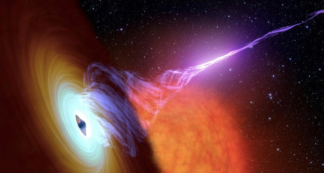 Fastest Growing Black Hole Of The Universe Have Discovered