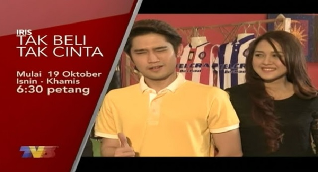 Drama Tak Beli Tak Cinta Lakonan Rita Rudaini Slot Iris TV3