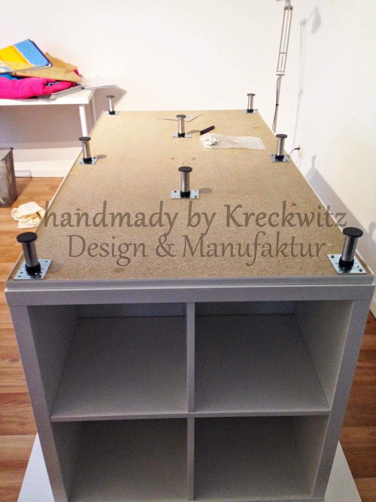 Kreckwitz Zuschneidetisch Ikea Hack