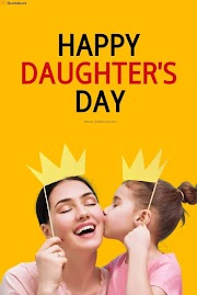 [Best] Happy Daughters Day 2020: Quotes, Sayings, Wishes, Greetings, Messages, Images, Poster, Photos, Pictures,slogan