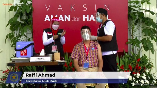 Raffi Ahmad Ikut Pesta Usai Divaksin, Istana Bereaksi
