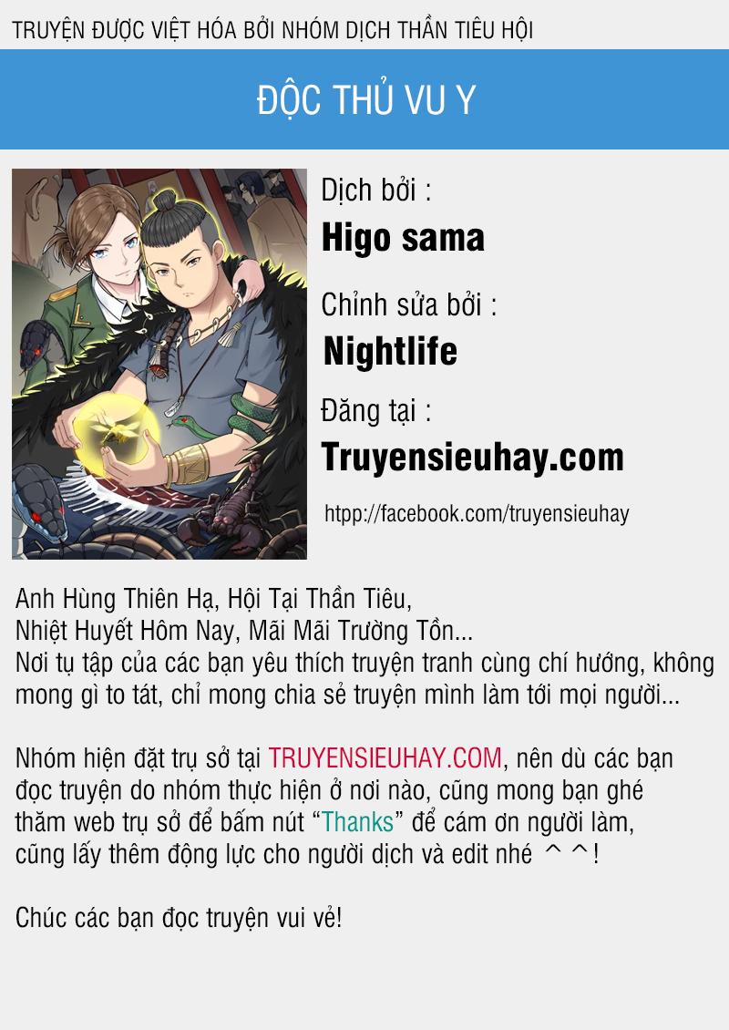 Độc Thủ Vu Y chap 50 - Trang 1