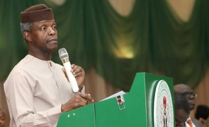 Nigerian Acting President Addresses Nigerians on Democracy Day