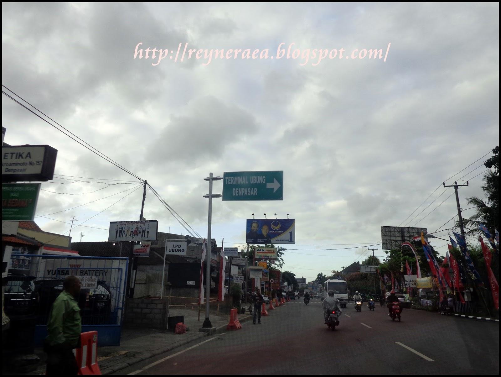 memasuki wilayah kota Denpasar Bali
