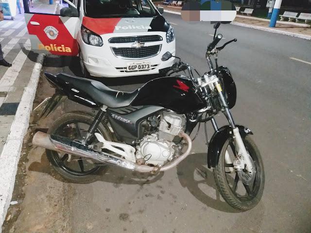 Policia Recuperam Moto Furtada em Osvaldo Cruz e prende criminoso em fragante  - Adamantina Notìcias