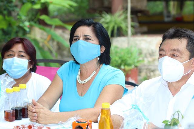Nelly Ortiz, de Nueva Alianza, propone bajar al 50% salario de funcionarios en Mérida