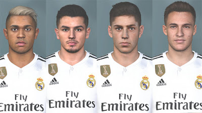 PES 2017 Facepack Real Madrid Youngsters 2018/2019