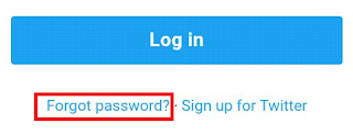 Password forget