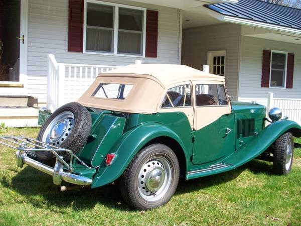 Mg Td British Roadster For Sale on 1951 mg td for sale