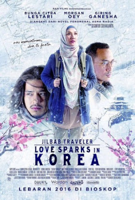 Download Film Jilbab Traveler: Love Sparks in Korea (2016) Full Movie