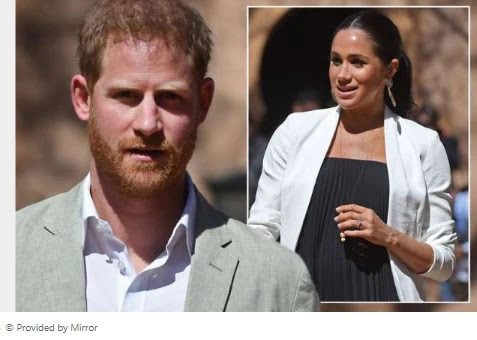 Prince Harry had secret Instagram account to comply with new female friend Meghan Markle