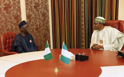 Photos: Buhari hosts Tunde Bakare
