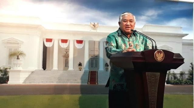 MUI Marah Din Syamsuddin Dituduh Anggota Kelompok Radikal : Fitnah Keji