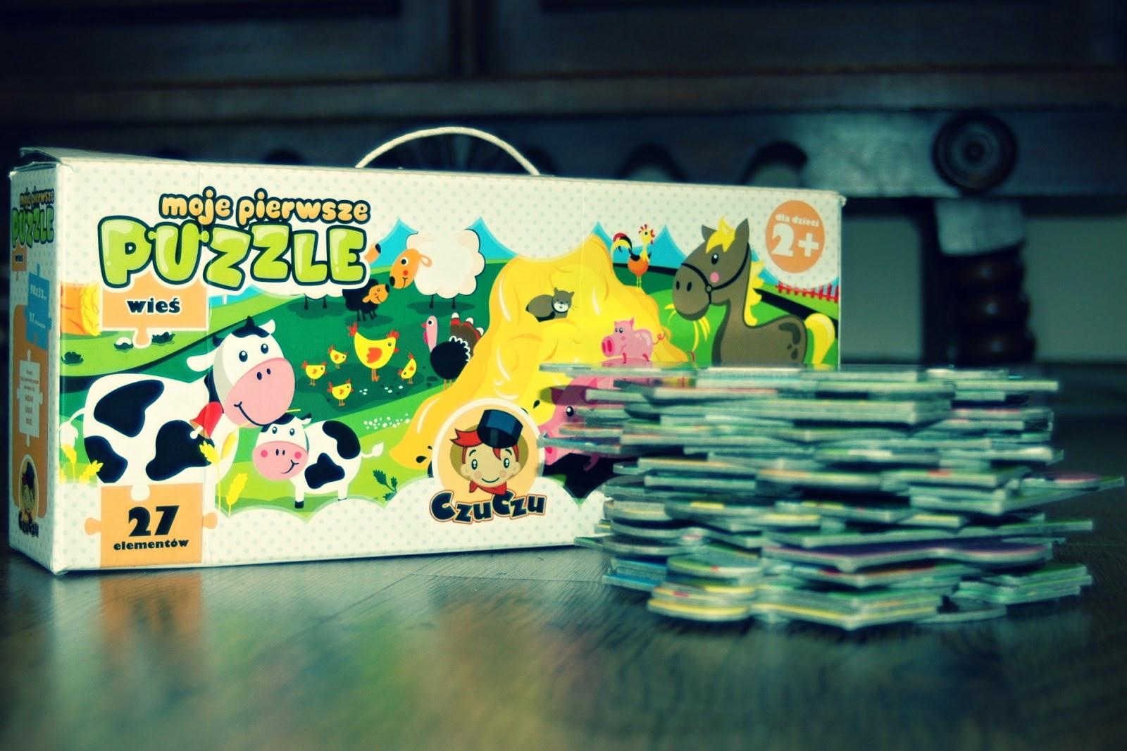 CzuCzu puzzle dla malucha i starszaka