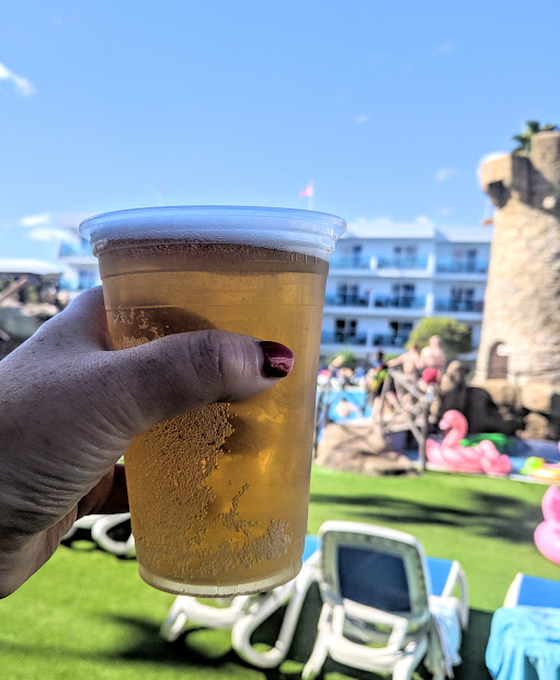 Pirates Village Santa Ponsa | Jet 2 Holidays Review  - all inclusive beer