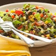 Easy healthy recipes for Weightloss: Black Bean Salad w/ avocado