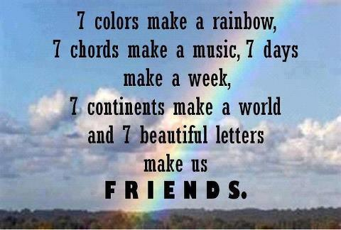 Quotes 7 Colours Make A Rainbow