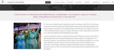 Sitio de Federación Feminista Gloria Arenas