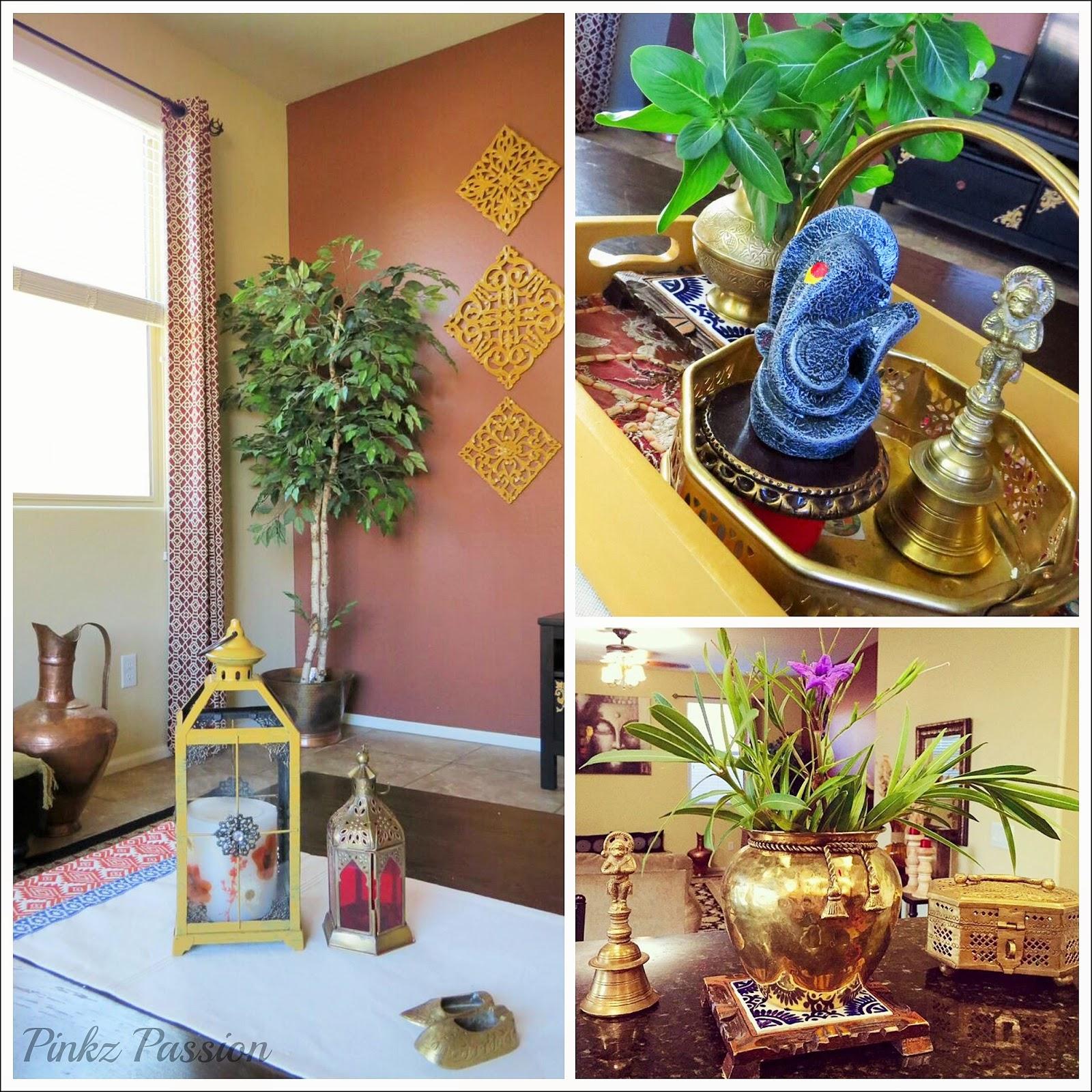 Diy Home Decor Indian Style Tutorial: Brass Vignettes, DIY Furniture Makeovers, Global Décor