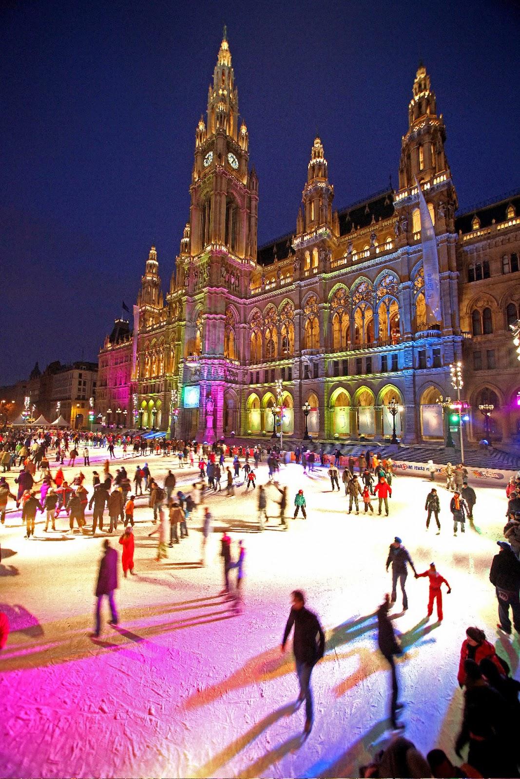 Idee per San Valentino 2015: pattianre al Wiener Eistraum di Vienna