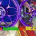 Sơn bánh mâm xe Winner 150 màu tím mộng mơ cực đẹp