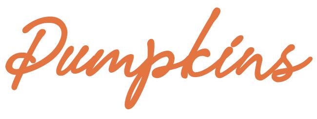 Pumpkins Font