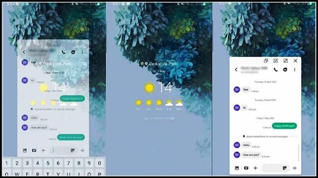 smart pop up view samsung في هواتف سامسونج جلاكسي