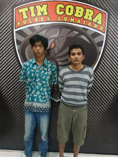 Pencuri Motor di Halaman Masjid  Ditangkap Tim Cobra Lumajang