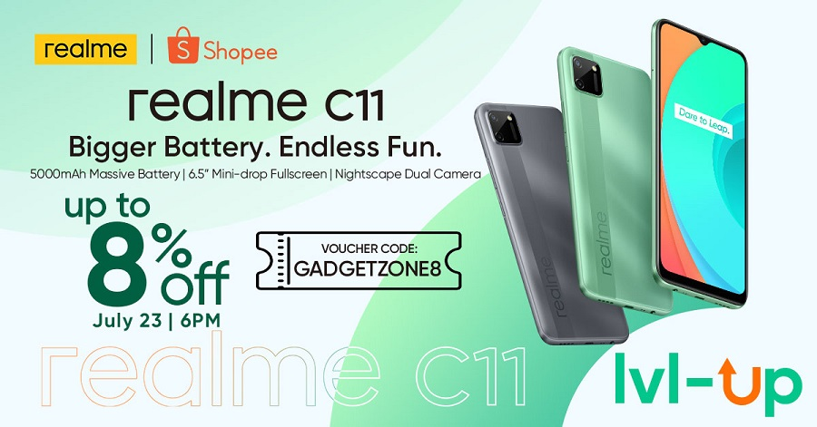 realme c11 price and discount