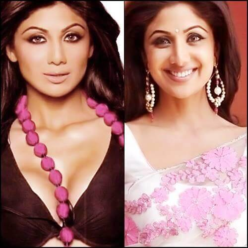 Shilpa Shetty, Before and After Photo