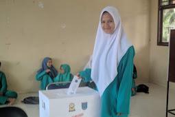 Selisih 2 Suara, Chelcy dan Giska Menangkan Pemilhan Ketua OSIS SMKN 1 XIII Koto Kampar Periode 2019-2020