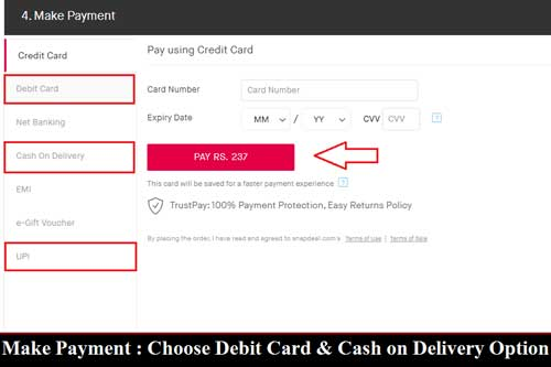 Snapdeal se online shopping kaise kare