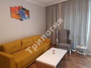 Гостна в апартаменти за гости, Бургас, център