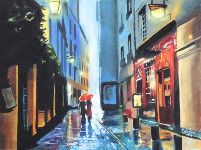 Шотландский художник. Gordon Bruce