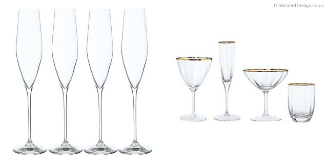 celebrate, dry january, champagne glasses, House of Fraser