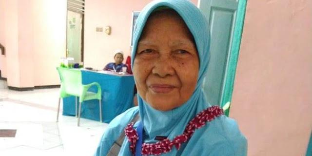 Berdoa Tanpa Mengeluh, Nenek Penjual Nasi Aking Ini Akhirnya Naik Haji