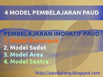 4 Model Pembelajaran PAUD ~ Pembelajaran Inovatif PAUD