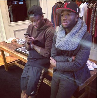Sulley Ali Muntari and Muniru
