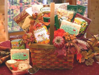 Kim's La Bella Baskets Fall Gift Baskets Harvest Blessings Gourmet Fall Gift Basket