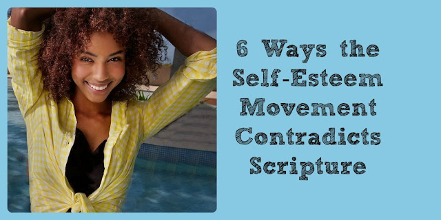 6 Ways the Self-Esteem Movement Contradicts Scripture. This 1-minute devotion packs a powerful punch at this popular belief. #Selfesteem #BibleLoveNotes #Bible