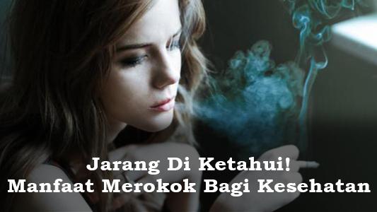 Manfaat Merokok Bagi Kesehatan