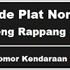 Kode Plat Nomor Kendaraan Sidenreng Rappang (Sidrap)