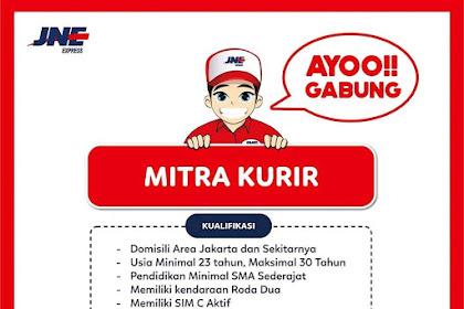 Info Lowongan Kerja Kurir JNE Jakarta