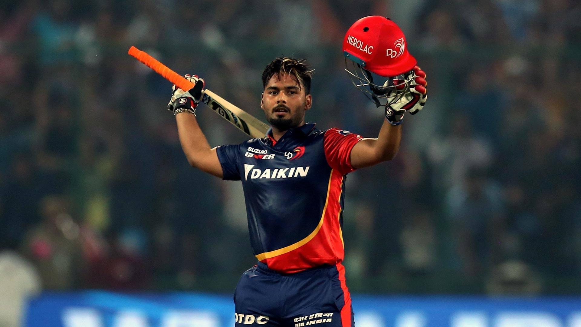 Rishabh Pant Playing for Delhi
